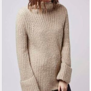 NWT TOPSHOP chunky knit sweater